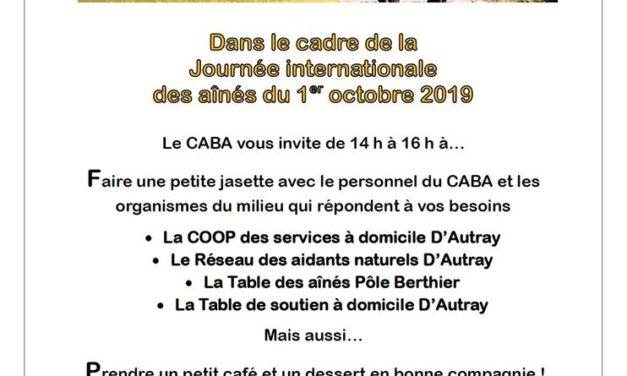 Journée internationale des aînés de Lanaudière