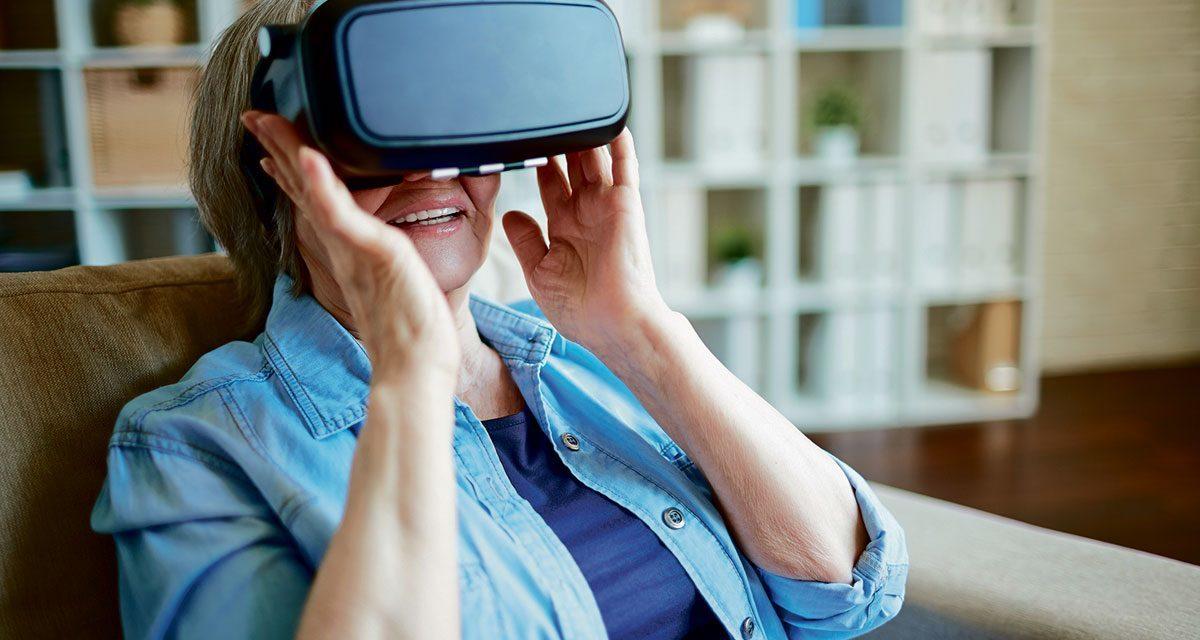 La réalité virtuelle pour favoriser l'épanouissement des aînés